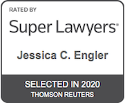 Jessica C. Engler - Super Lawyers Badge
