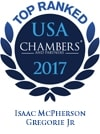 Top Ranked in Chambers USA 2017