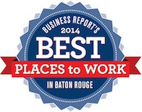 2014 - Best Places To Work in Baton Rouge