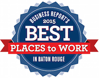 2015 - Best Places To Work in Baton Rouge