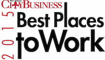 2015 - Best Place to Work - City Business