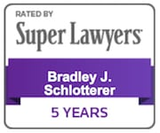 Bradley Schlotterer Super Lawyers